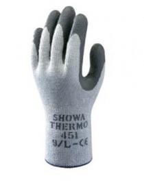 Guante modelo SHOWA 451 THERMY, caja de 120 pares