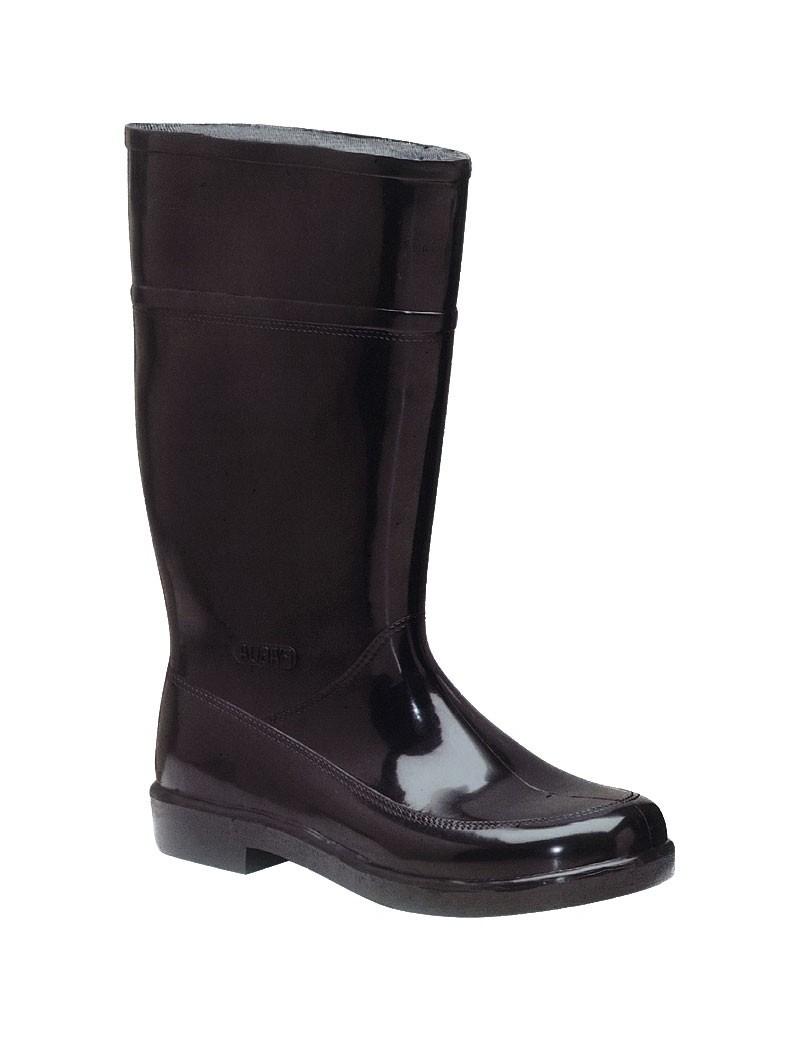 Bota de goma P´agua monocolor negra alta