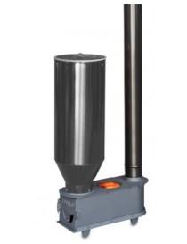 Estufa para orujo, cáscaras, y pellet (con adaptador) modelo VULCANO con deposito galvanizado I.V.A incluido