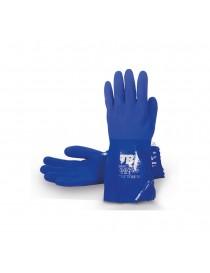 Guante PVC azul triple baño modelo 666VINIL - I.V.A incluido