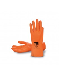 Guantes látex natural/neopreno naranja. Modelo TB 9005 - I.V.A incluido