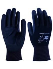 Guante de nylon sin costuras con PU en la palma. Modelo SuperContact S-2000 - I.V.A. Incluido